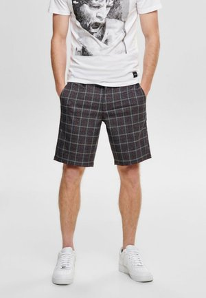 Shorts - dark grey melange