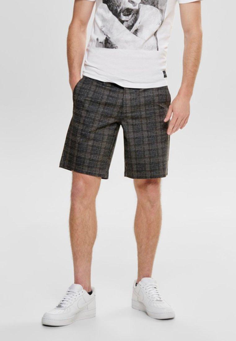 Only & Sons - MARK - Shorts - dark grey melange