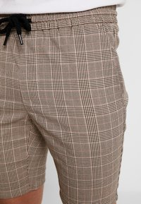 Only & Sons - ONSLINUS CHECK  - Shorts - chincilla - 4
