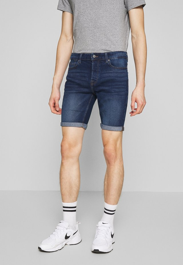 ONSPLY SLIM  - Shorts vaqueros - blue denim