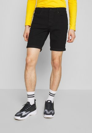 ONSPLY SLIM  - Denim shorts - black denim