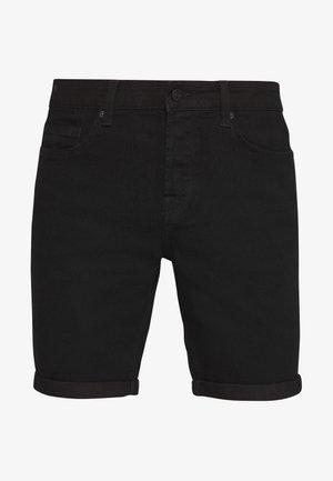 ONSPLY SLIM  - Szorty jeansowe - black denim