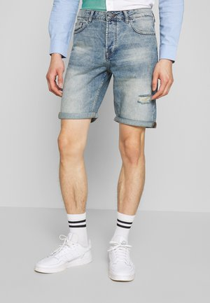 ONSAVI LOOSE  - Shorts vaqueros - blue denim