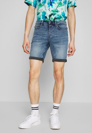ONSPLY REG - Shorts vaqueros - blue denim