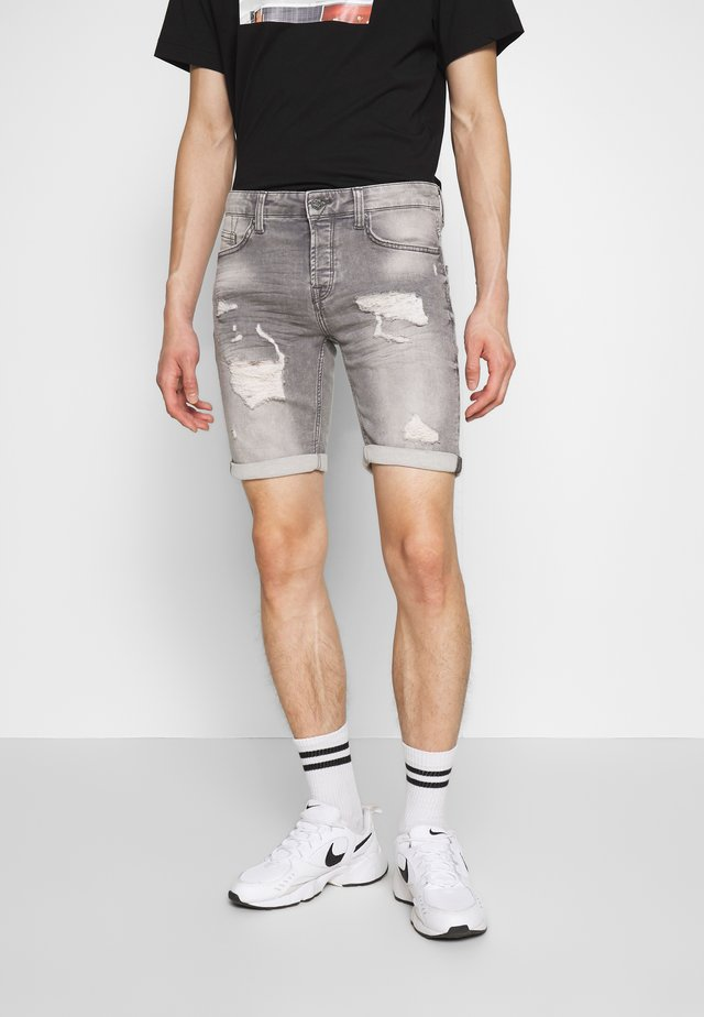 ONSPLY - Shorts vaqueros - grey denim