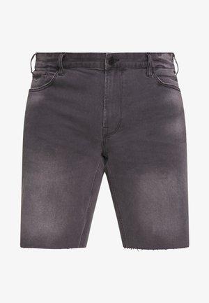ONSPLY RAW HEM - Denim shorts - grey denim