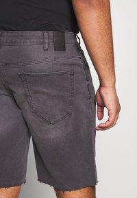 Only & Sons - ONSPLY RAW HEM - Denim shorts - grey denim - 3