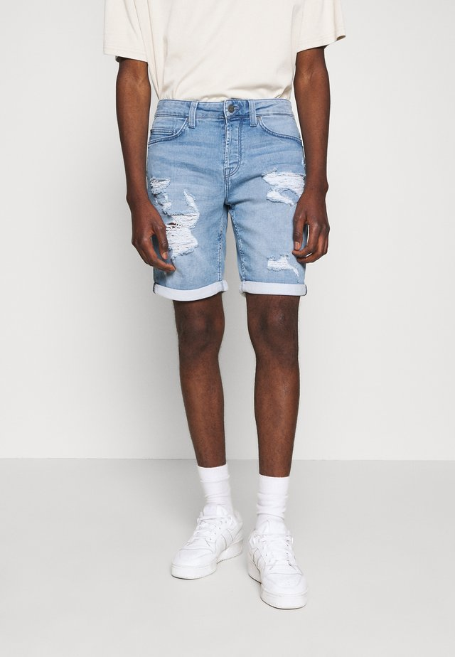 ONSPLY - Jeansshorts - blue denim