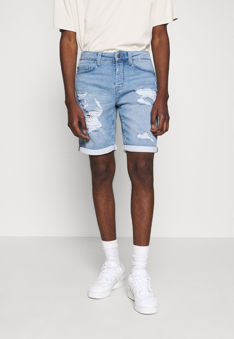 Only & Sons - ONSPLY - Jeansshort - blue denim