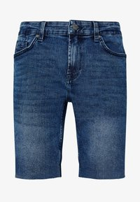 Only & Sons - ONSPLY ZIP RAW HEM  - Shorts vaqueros - blue denim - 3