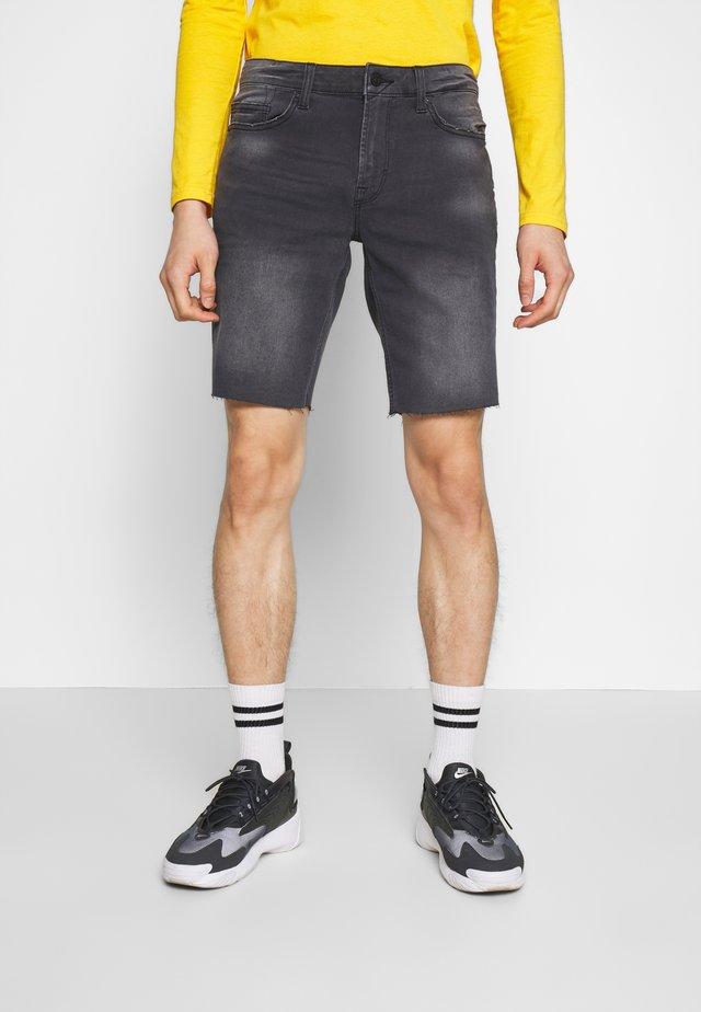 ONSPLY REG RAW  - Shorts di jeans - grey denim