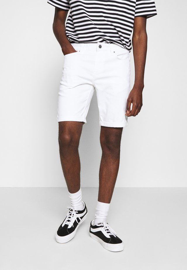 ONSPLY  - Jeansshort - white