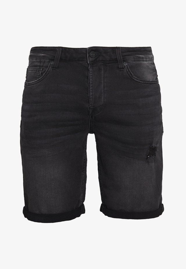 ONSPLY  - Denim shorts - black denim