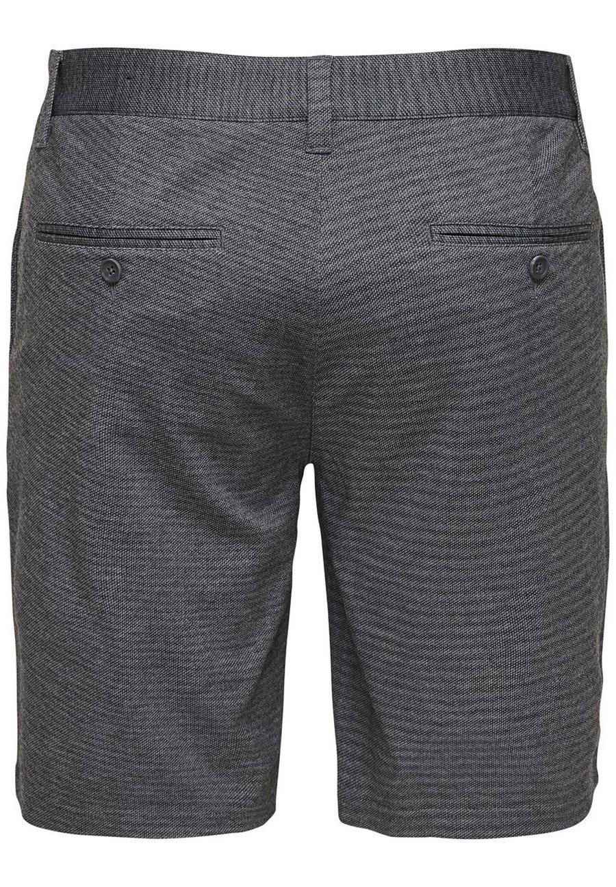 Only & Sons Chinoshorts Klassische - Shorts Black