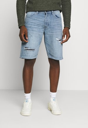 ONSAVI LIFE - Denim shorts - blue denim