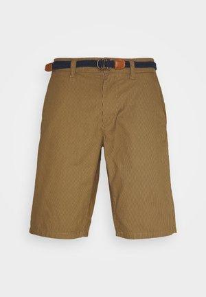 ONSWILL CHINO BELT - Shorts - dull gold