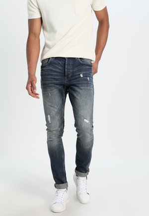 ONSAVI - Jeansy Slim Fit - dark blue denim