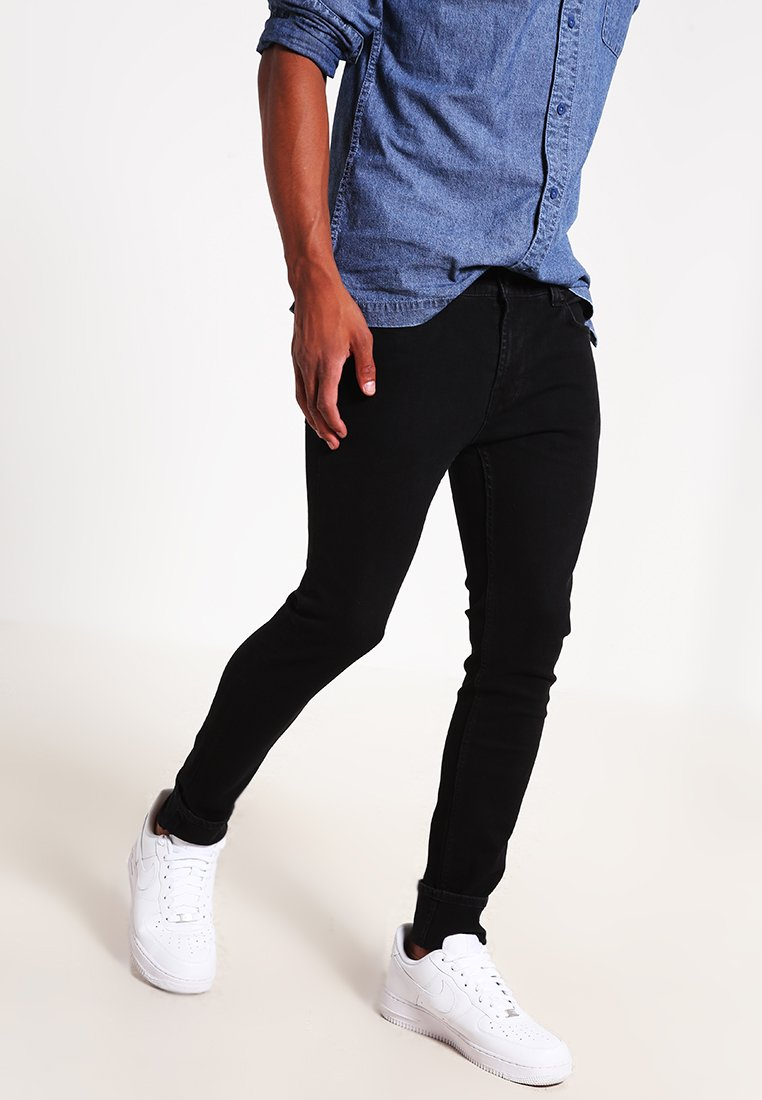 Only & Sons - ONSWARP  - Jeansy Skinny Fit - black