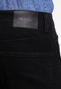 Only & Sons - ONSWARP  - Jeansy Skinny Fit - black - 4