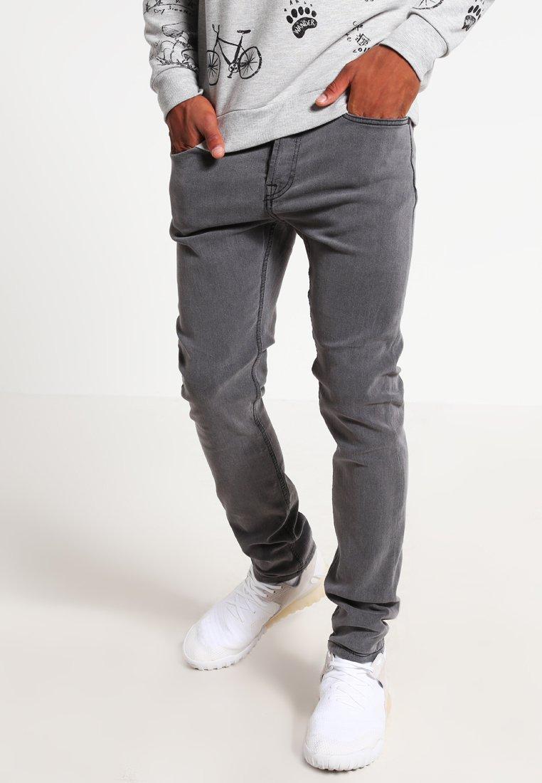 Only & Sons - ONSWARP - Jeans Skinny Fit - dark grey denim