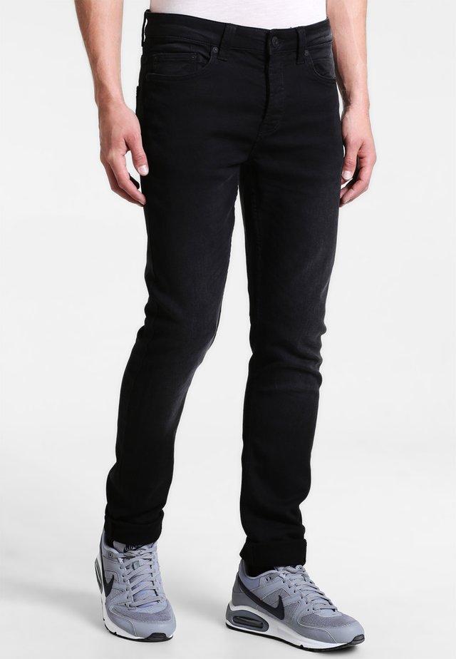 ONSLOOM JOG - Slim fit -farkut - black