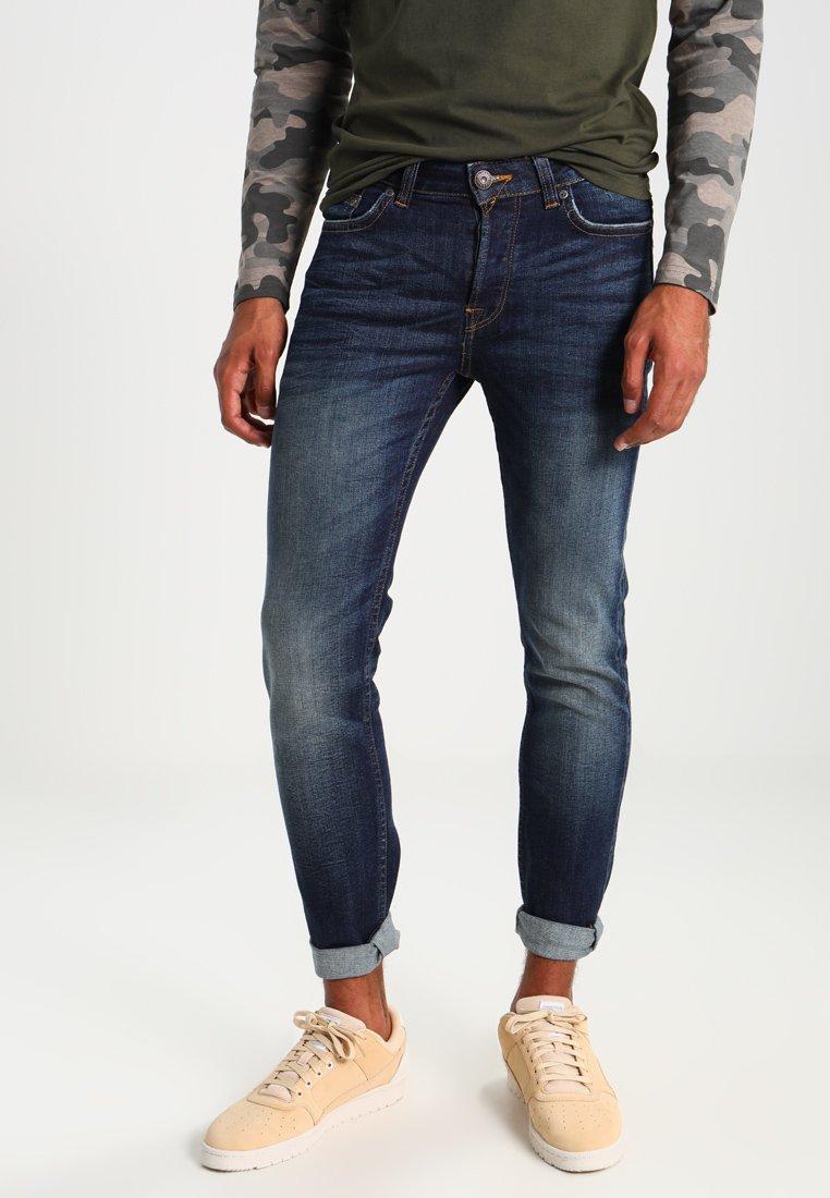 Only & Sons - ONSLOOM  - Slim fit jeans - dark blue denim