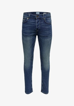 LOOM JOG - Slim fit jeans - blue