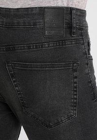 Only & Sons - ONSLOOM BLACK WASHED - Slim fit jeans - black denim - 3