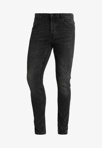 Only & Sons - ONSLOOM BLACK WASHED - Slim fit jeans - black denim - 4