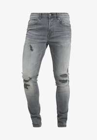 Only & Sons - ONSSPUN - Jeansy Skinny Fit - grey denim - 4