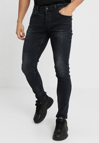 Only & Sons - ONSSPUN BLUE BLACK  - Jeansy Slim Fit - blue denim - 0