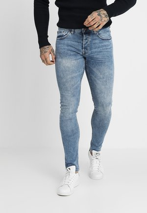 ONSSPUN WASHED - Džíny Slim Fit - blue denim