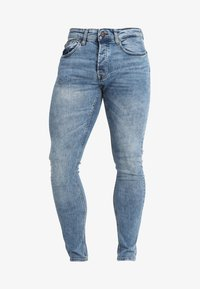 Only & Sons - ONSSPUN WASHED - Slim fit jeans - blue denim - 4
