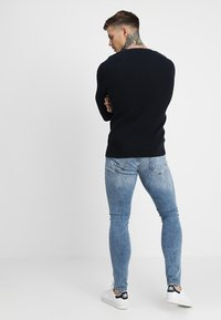 Only & Sons - ONSSPUN WASHED - Slim fit jeans - blue denim - 2
