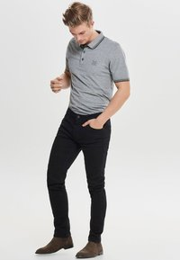 Only & Sons - Jeansy Slim Fit - black denim - 1