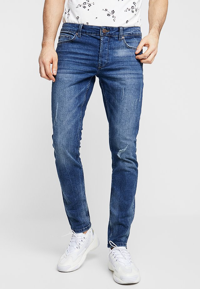 ONSLOOM DAMAGE - Jeans slim fit - blue denim