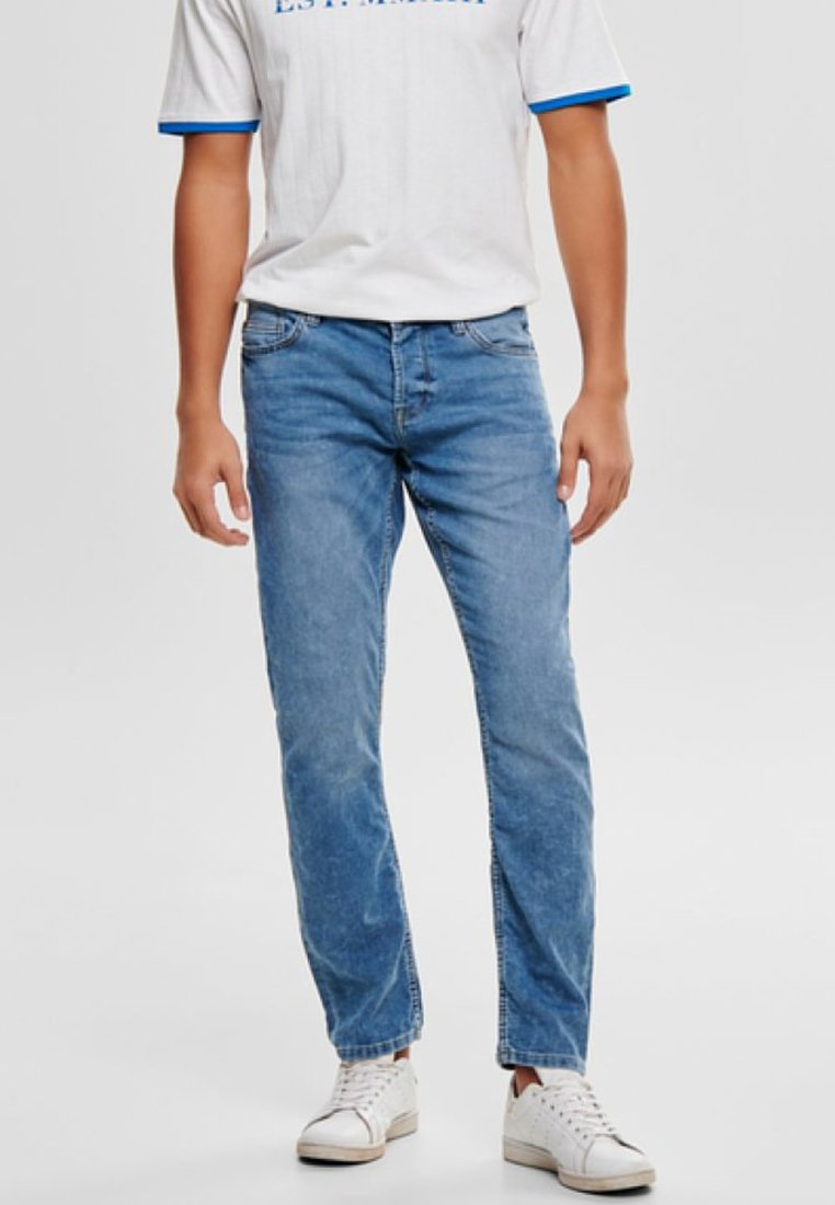 Only & Sons - LOOM - Straight leg jeans - blue