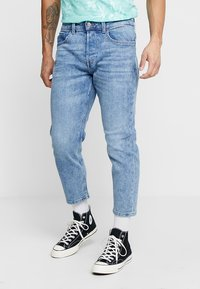 Only & Sons - ONAVI BEAM CROP - Jeans relaxed fit - blue denim - 0