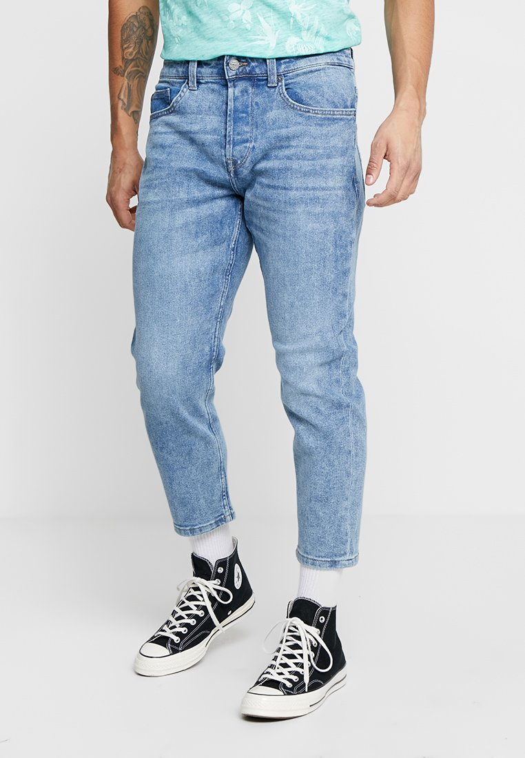 Only & Sons - ONAVI BEAM CROP - Jeans relaxed fit - blue denim
