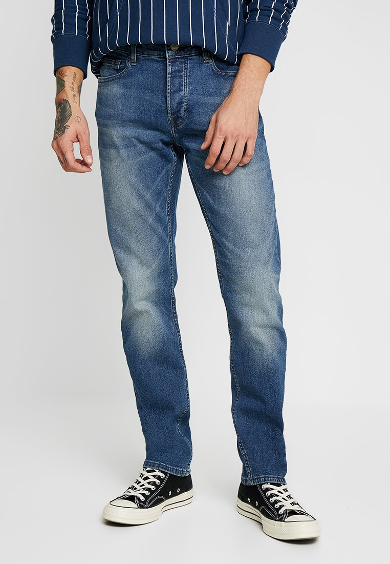 Only & Sons - ONSWEFT WASHED - Slim fit jeans - blue denim
