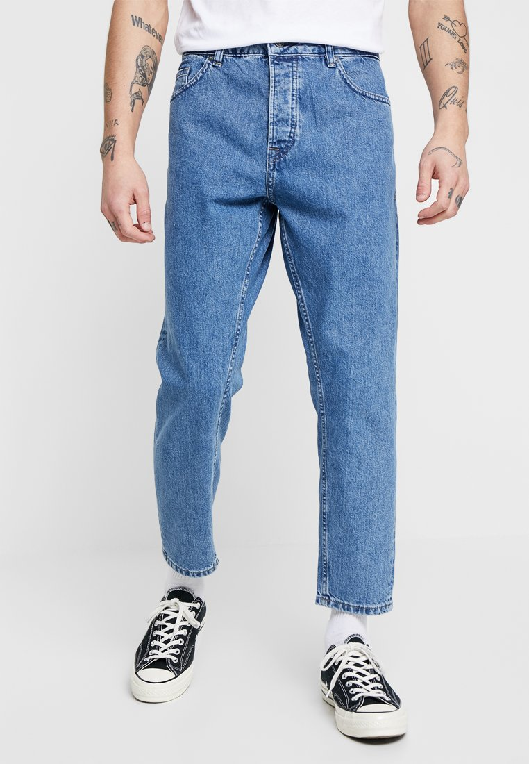 Only & Sons - ONSAVI BEAM WASHED LIGHT  - Relaxed fit jeans - blue denim
