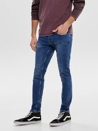Only & Sons - Jeans Skinny Fit - blue denim - 0