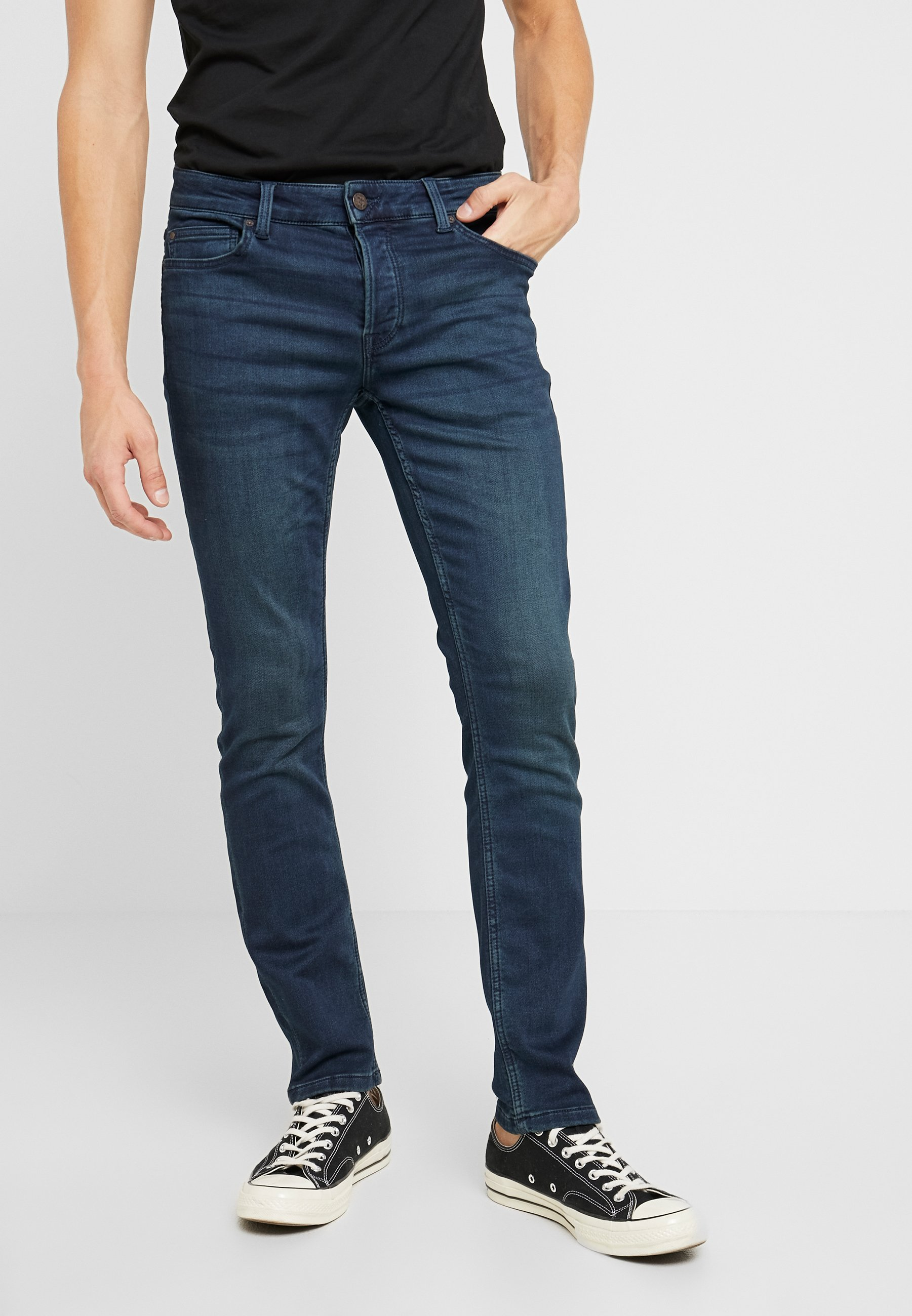 Only & Sons ONSLOOM DARK - Jeansy Slim Fit - blue denim