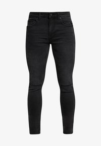 Only & Sons - ONSWARP WASHED - Jeansy Skinny Fit - black denim - 4