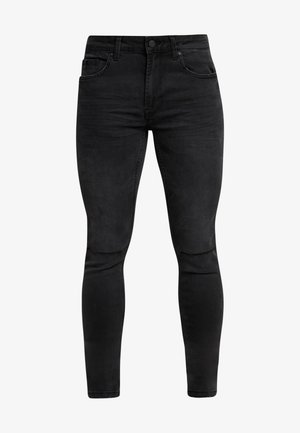 ONSWARP WASHED - Vaqueros pitillo - black denim