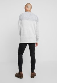Only & Sons - ONSWARP WASHED - Jeansy Skinny Fit - black denim - 2
