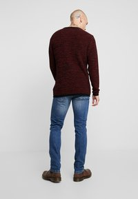 Only & Sons - ONSLOOM DAMAGE - Jean slim - blue denim - 2