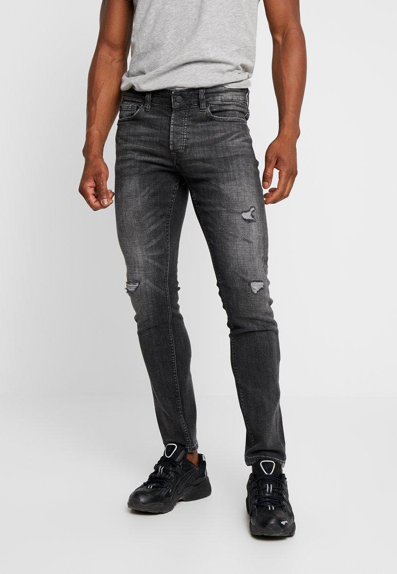 Only & Sons - ONSLOOM DAMAGE - Slim fit jeans - grey denim
