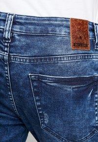 Only & Sons - ONSLOOM WASHED - Slim fit jeans - blue denim - 4