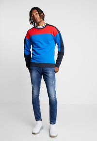 Only & Sons - ONSLOOM WASHED - Slim fit jeans - blue denim - 1